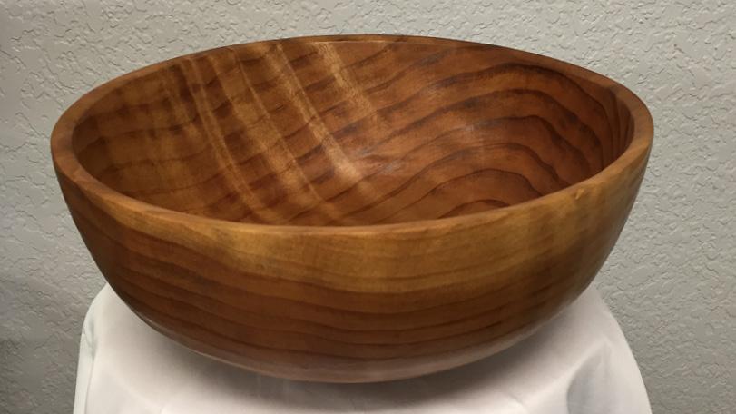 Sapwood Burl Bowl - Light & Dark Wood