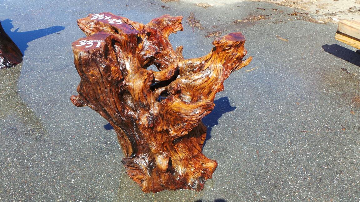 Bold Redwood Table Base