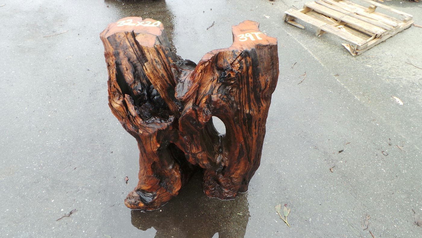 Redwood Root Dining Table Base