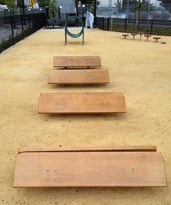 main street dog park hurdles