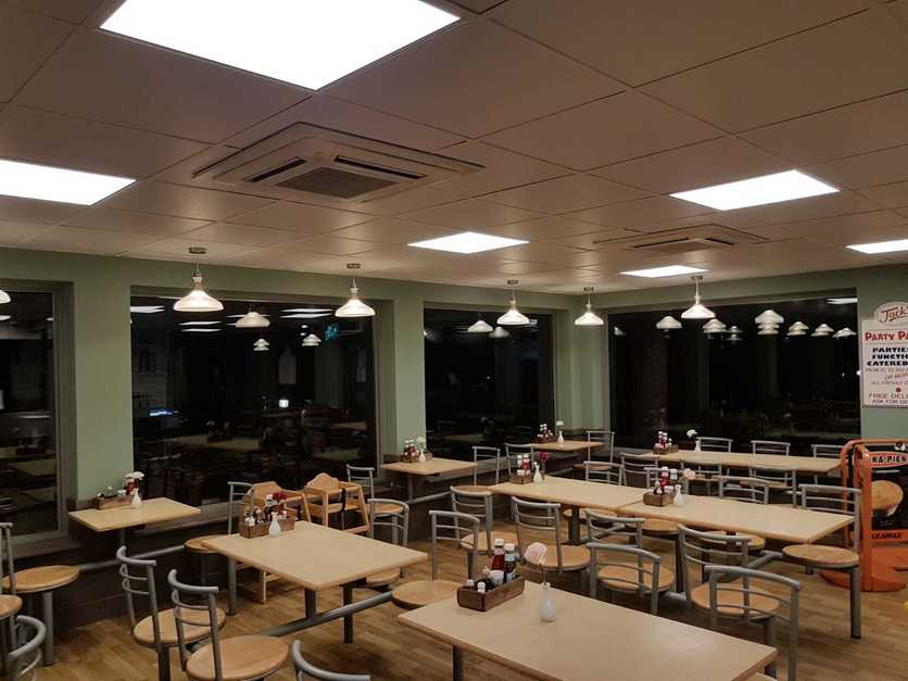 commercial led ceiling panels