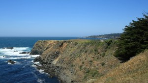 The cliffs of Mendocino