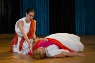 ROW 2012: Molly Leonard as Orfeo and Rebecca Tuttle as Euridice