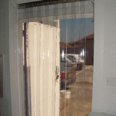 PVC Strip Curtains  Redwood Strip Curtains