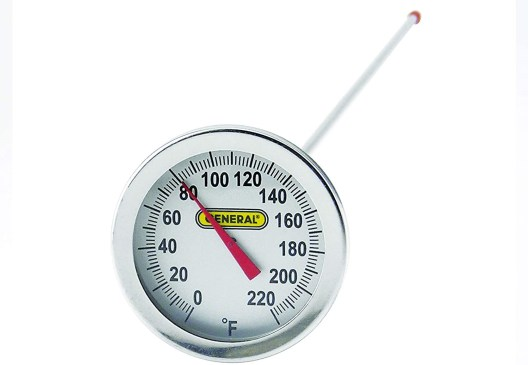 General Tools PT2020G-220 Analog Soil and Composting Dial Thermometer redwormfarms.com