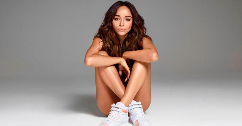 Ashley Madekwe Reebok Freestyle for Reebok Face Stockholm