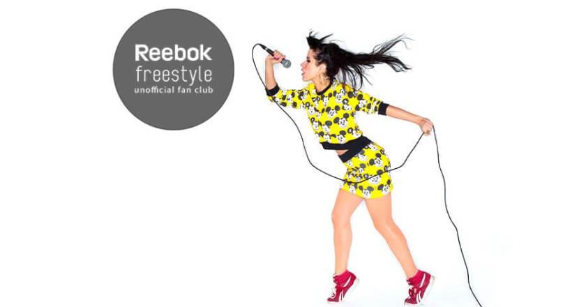 Baby K Reebok Freestyle para AW Lab
