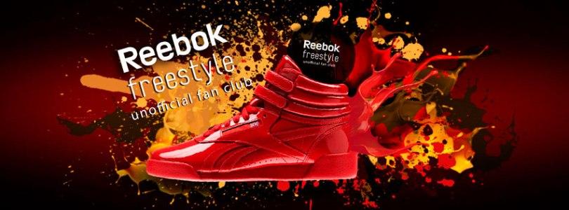Banner About Reebok Freestyle Fan Club