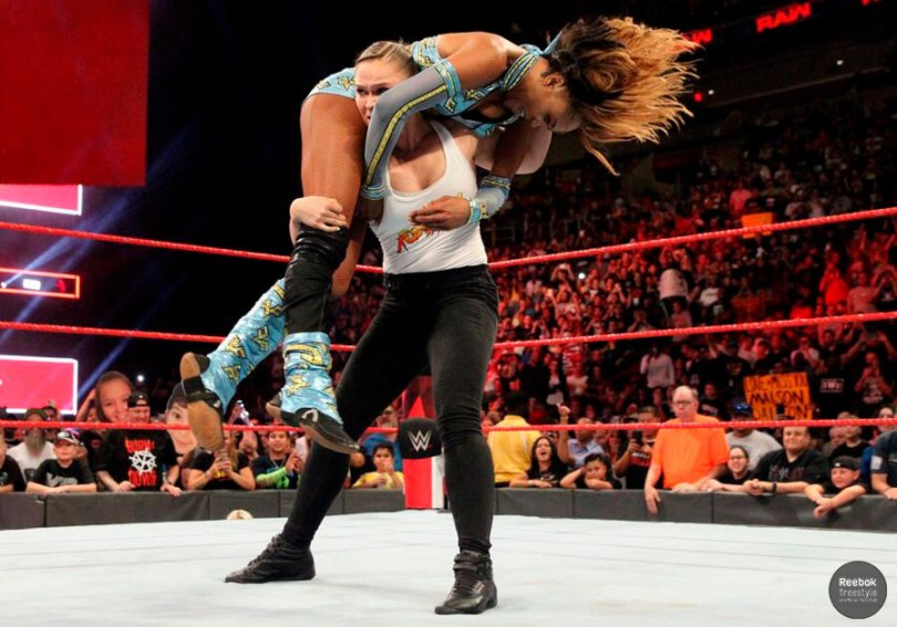 Ronda Rousey Reebok Freestyle thumb