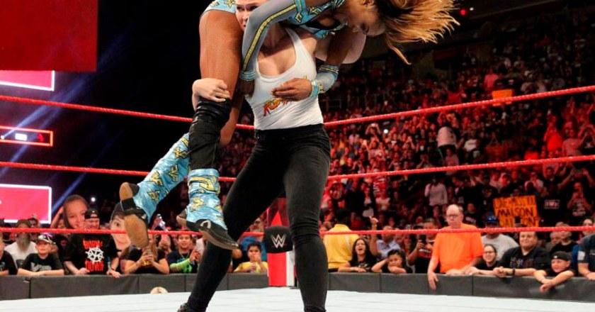 Ronda Rousey, guerrera de WWE