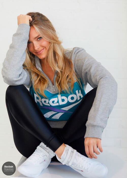 Camille Kostek Reebok Freestyle