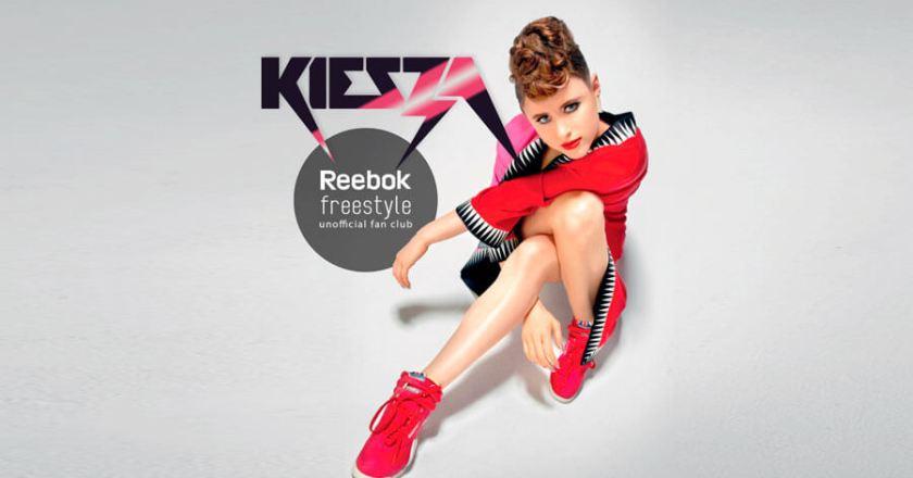 Kiesza, power and Reebok Freestyle