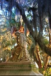 Bonaventure Grave Statue