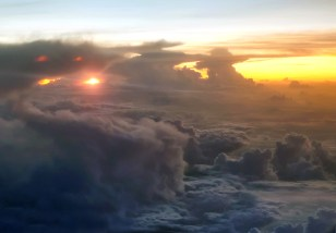 Skies Above South America