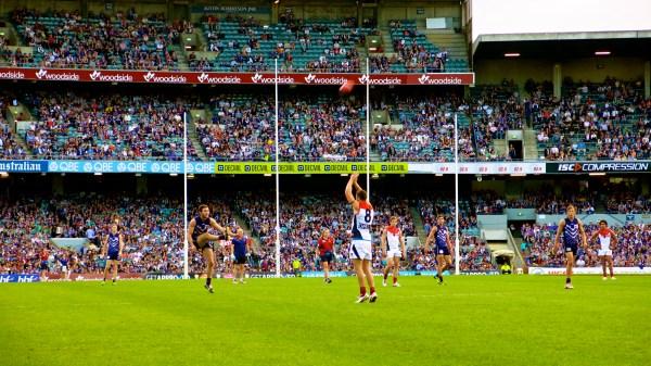 Australian Rules Football Footy . In Land Under