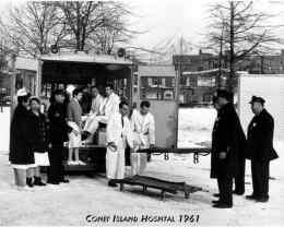 Coney Island Hospital, 1961 (source: http://bit.ly/1dR5Yrz)