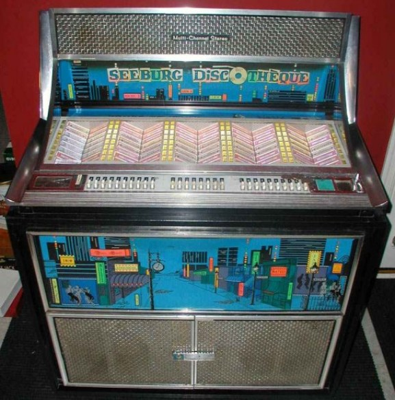 Seeburg Fleetwood Jukebox, 1965 Model (source: http://bit.ly/1dR69TV)