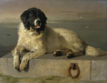 Pilot, the dog of Edward Fairfax Rochester, in Charlotte Bronte's JANE EYRE. (Credit: http://www.houndhead.com)