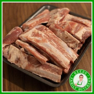 Buy a £10 tray of Ribs online from Reeds Family Butchers