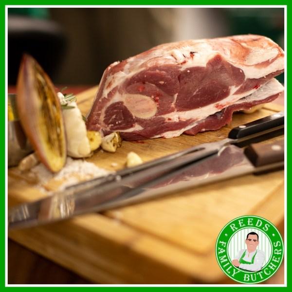 Buy Half Lamb Shoulder x 1 online from Reeds Family Butchers