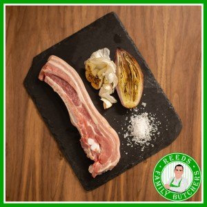 Buy Pork Belly Strip x 4 online from Reeds Family Butchers