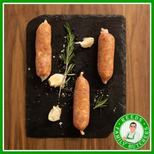 Buy Pork & Sweet Chilli Sausages - 8 Pack online from Reeds Family Butchers