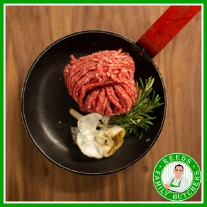 Buy Minced Beef x 500g online from Reeds Family Butchers