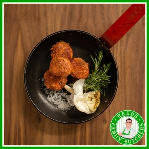 Buy Meatballs x 12 online from Reeds Family Butchers
