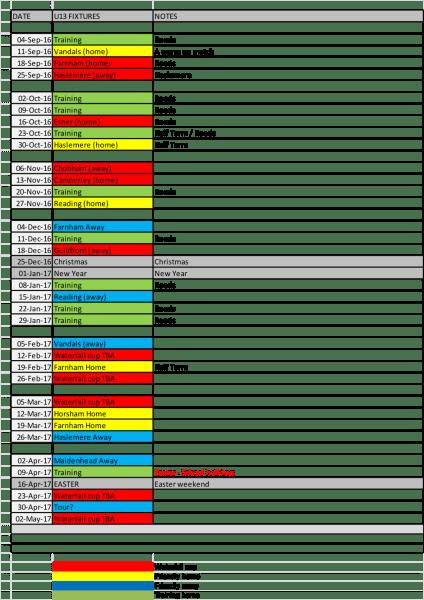 u13-fixtures-2016-17