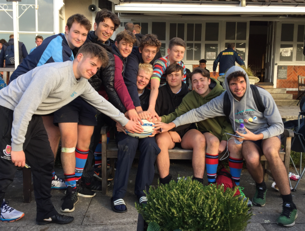 Friends On and Off the Field - Reeds Weybridge RFC Colts