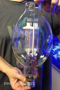 1000 watt Twinarc MH is one honking halide bulb - Reef ...