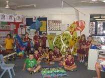 Reef walk 2013: Rollingstone Primary School Prep, 20 June 2013