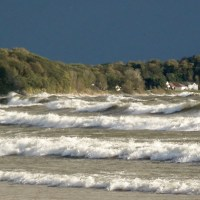An awesome look at Lake Erie waves