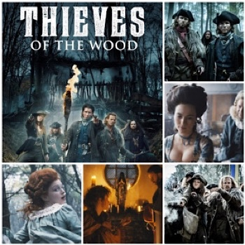Thieves of the Woods photo montage