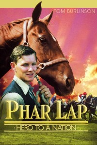 Image shows theatrical poster of the horse movie Phar Lap