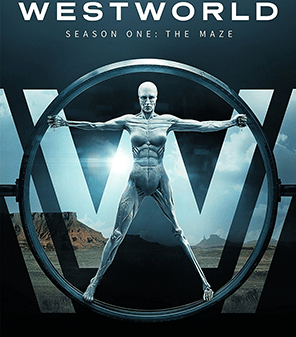 Image shows poster of Westworld for Season 1 relating to opening credits article