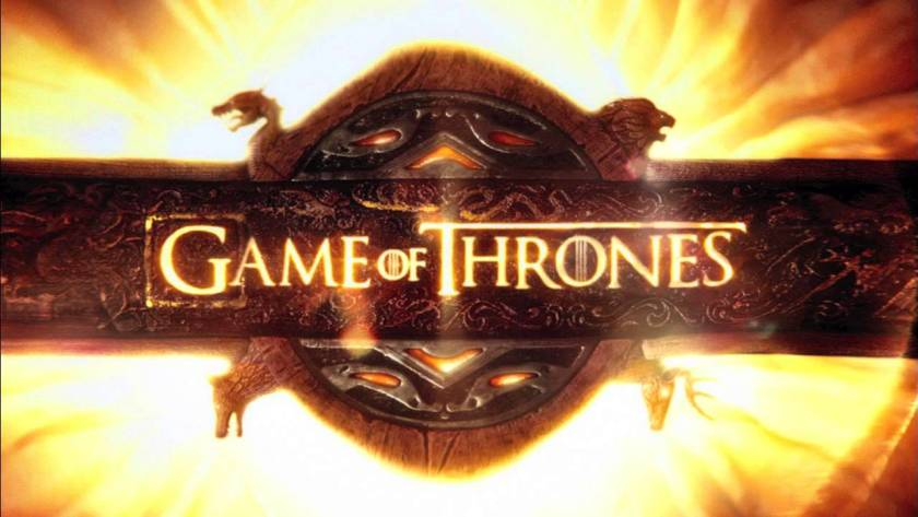 Image shows Game of Thrones poster which relates to opening credits article