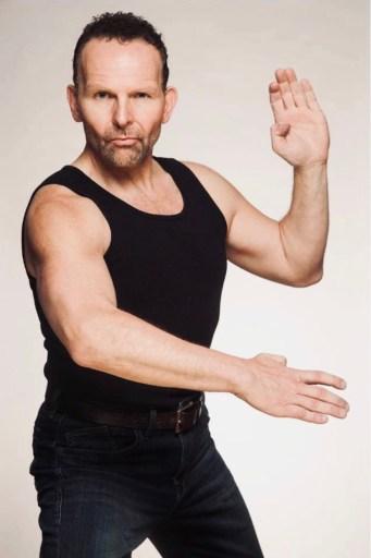 Alex Ziwak in martial arts pose
