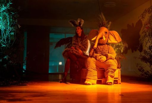 Image shows still of The Elephant in the Room episode of Bloodride
