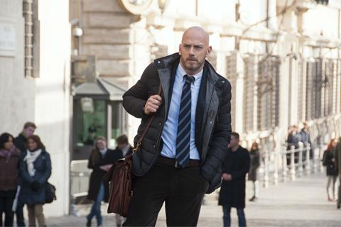Amedeo Cinaglia played by Filippo Nigro in Suburra: Blood on Rome