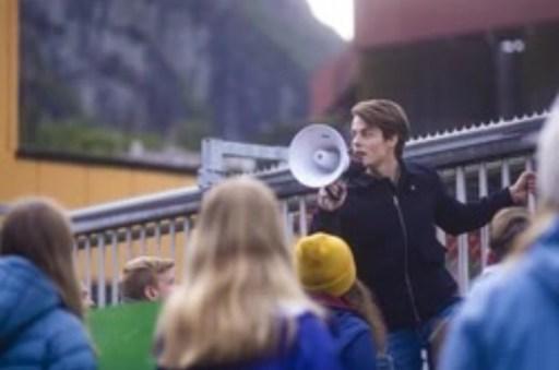 Herman Tømmeras as Fjor in Ragnarok season 2