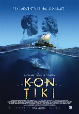A theatrical poster for Kon-Tiki