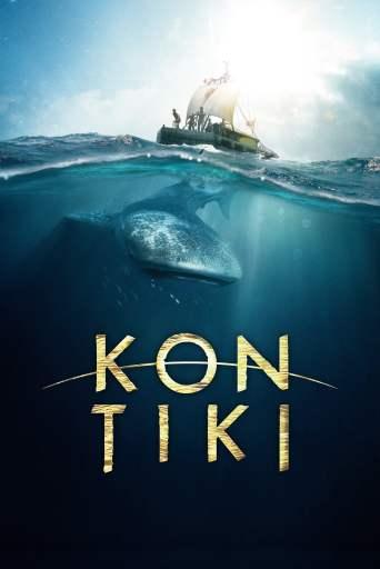 A theatrical poster for the film Kon-Tiki