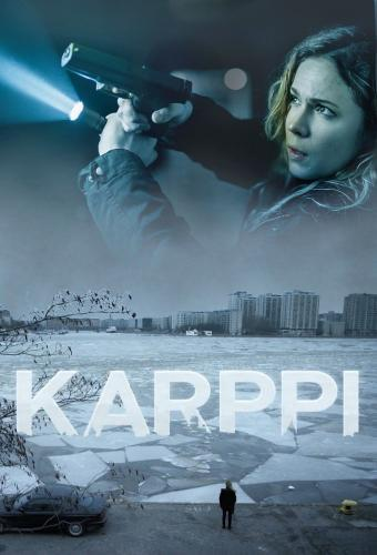 Finnish theatrical poster for Karppi (Deadwind)