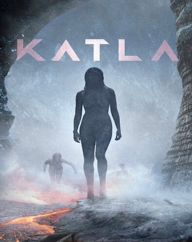 Theatrical poster for Katla
