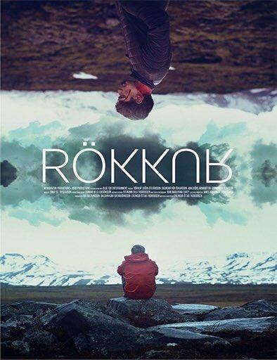 Icelandic theatrical poster for the film Rift (Rökkur)