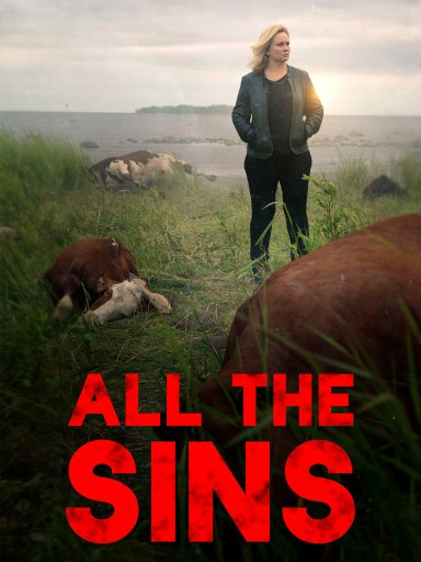 The English language poster for All the Sins