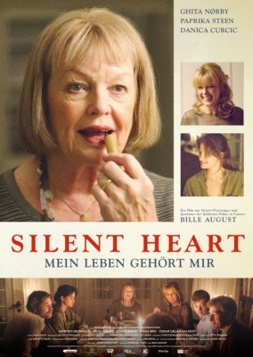 German theatrical poster for the film Silent Heart