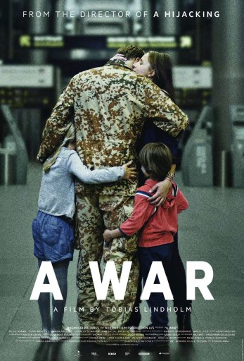 English language poster for the film A War