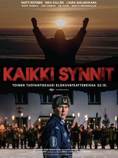 Finnish-language theatrical poster for All the Sins S2
